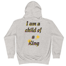 Load image into Gallery viewer, Child of a kings Kids Hoodie