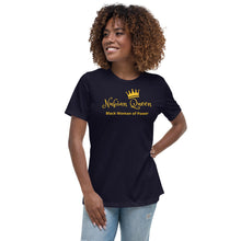 Load image into Gallery viewer, Nubian Queen Women's Relaxed T-Shirt