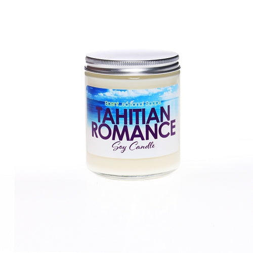 Tahitian Romance scented Soy Candle