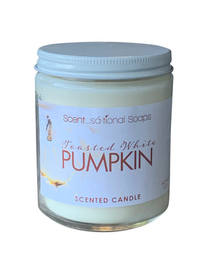 Toasted White Pumpkin Soy Candle