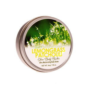 Lemongrass Patchouli  Body Butter