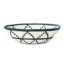 Load image into Gallery viewer, Thousand Hills B & W Handwoven Large Basket