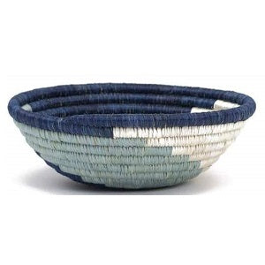 Silver Blue Unity Small Basket