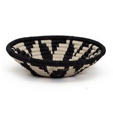Load image into Gallery viewer, Virunga B & W Handwoven Small Basket