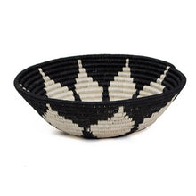 Load image into Gallery viewer, Hope Black Handwoven Medium Basket