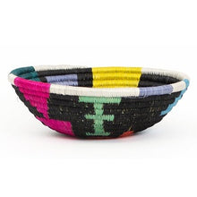 Load image into Gallery viewer, Mtoto Black & Neon Small Basket