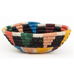 Nyota B & Neon Handwoven Small Basket