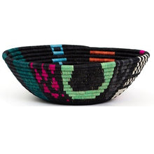 Load image into Gallery viewer, Cheza B & Neon Handwoven XL Basket