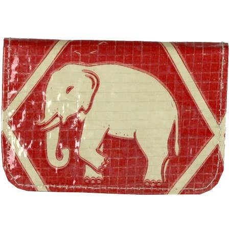 Diamond Elephant Cement Card Holder