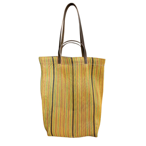 Small Assam Market Bag. Yellow