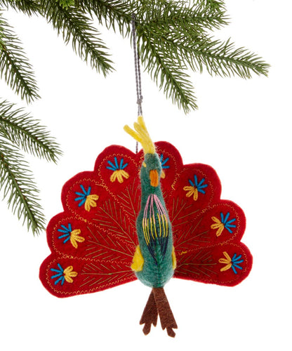Peacock Ornament
