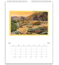 Load image into Gallery viewer, California 2021 Wall Calendar