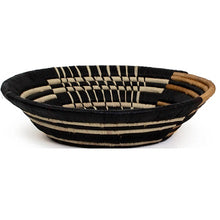 Load image into Gallery viewer, Striped Banana Bark XL Handwoven Basket