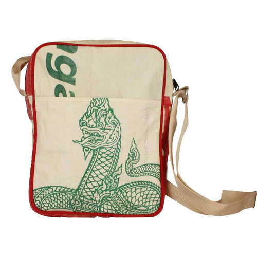 Serpent Cement Crossbody Bag