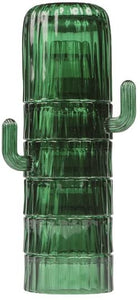 Cactus Saguaro Glasses Set/6