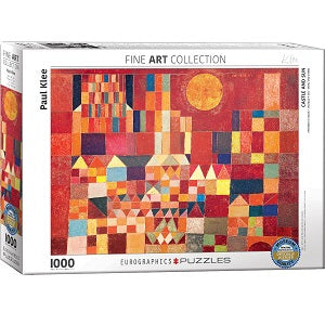 Castle and Sun Klee Puzzle