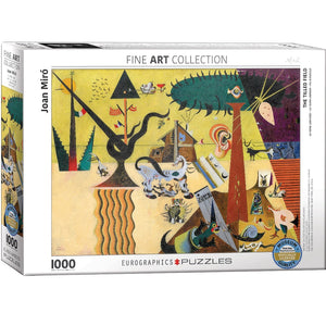 The Tilled Field Miro Puzzle