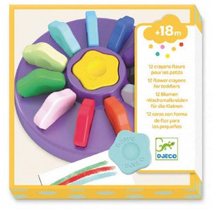 Flower Crayons set of 12