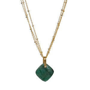 Emerald Hera Necklace