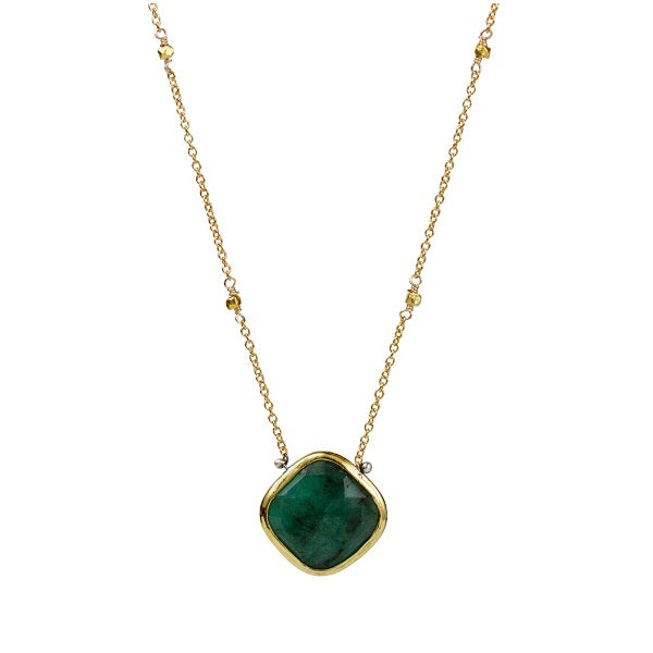 Emerald Lucia Necklace