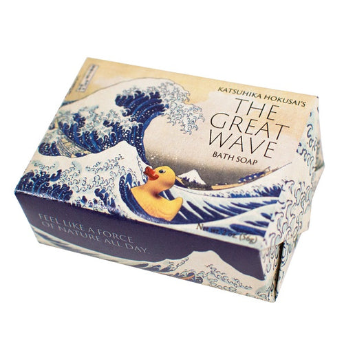 Hokusai's Great Wave Bath Soap