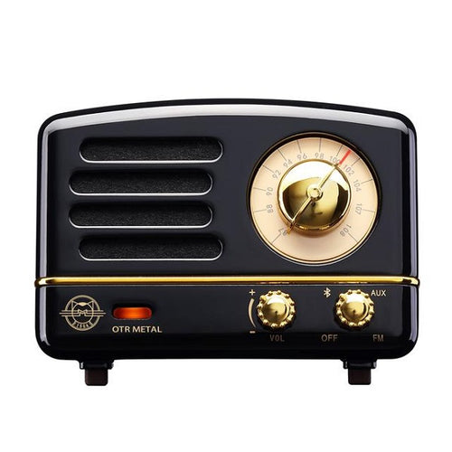 Bluetooth Radio Metal Black