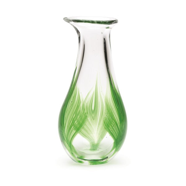 Palm Leaf Bud Vase