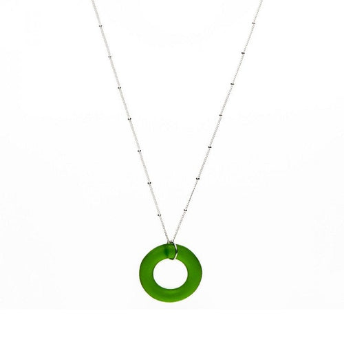 Seaglass Lime Necklace