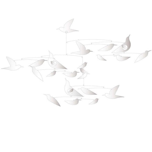 White Birds Mobile