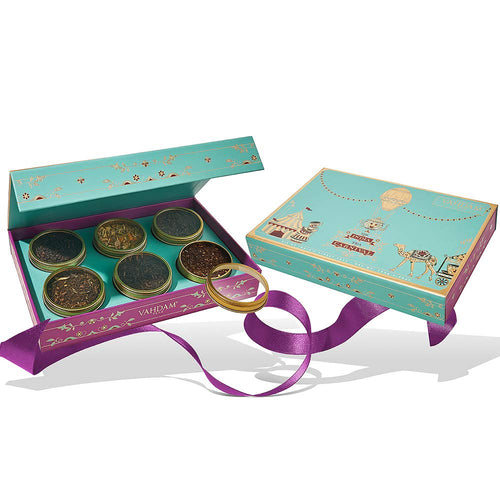 India Tea Carnival Gift Set of 6