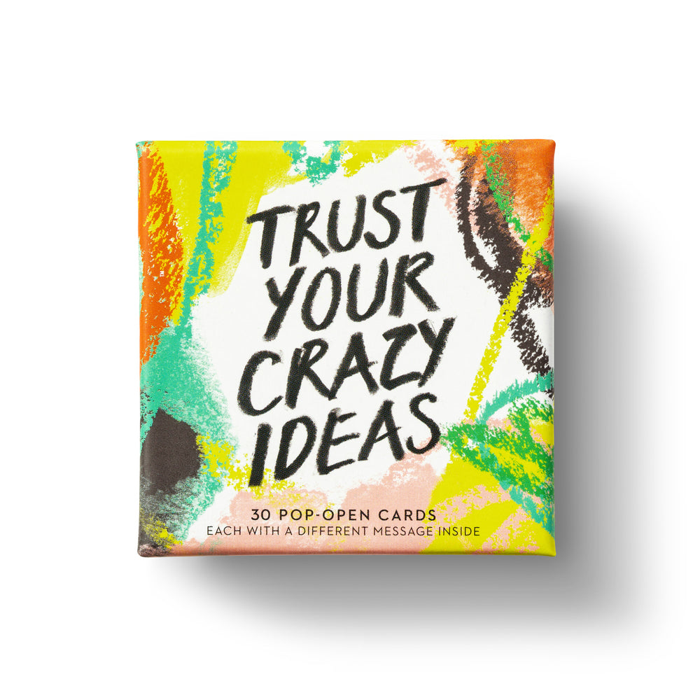 Trust Your Crazy Ideas Note Cards