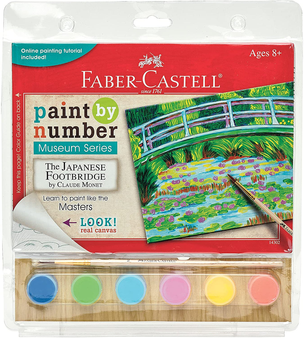 Japanese Footbridge Paint By Number