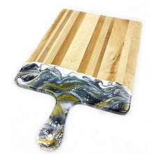 Load image into Gallery viewer, Canadian Maple & Resin Cheeseboard XL