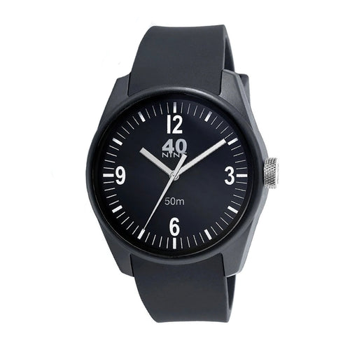 Mens 40Nine Basic Watch Black/Black