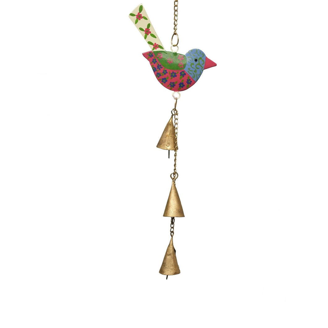 Red Blossom Bird Chime