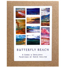 Load image into Gallery viewer, Butterfly Beach Boxed Notecards