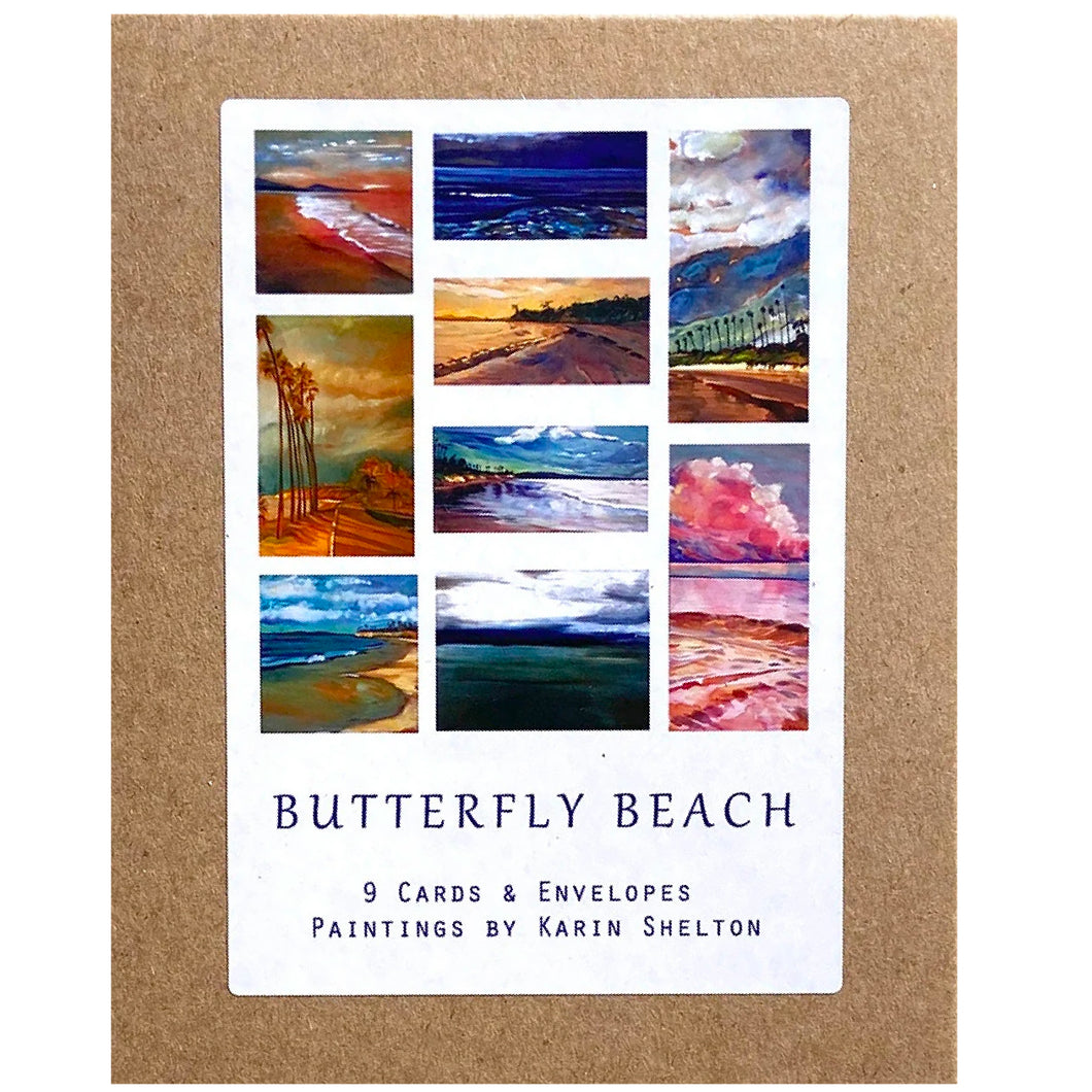 Butterfly Beach Boxed Notecards