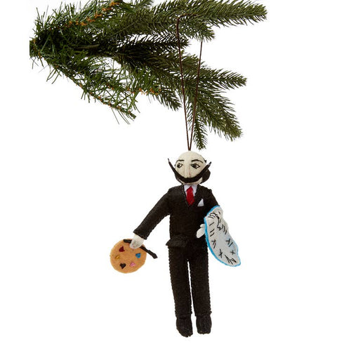 Salvador Dali Ornament