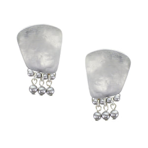 Trapezoid Clip-on Earring