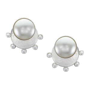 Radial Pearls Earrings