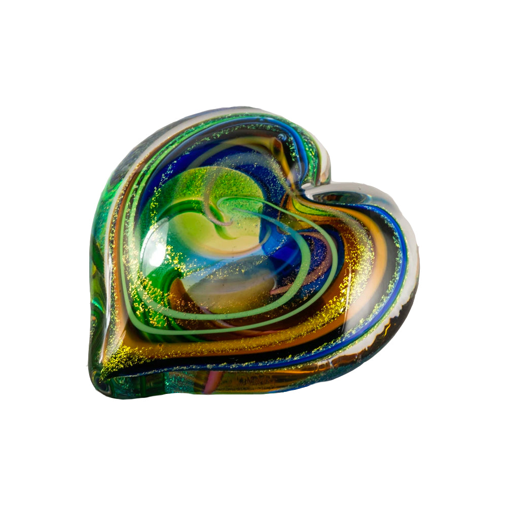 Golden Rainbow Paperweight