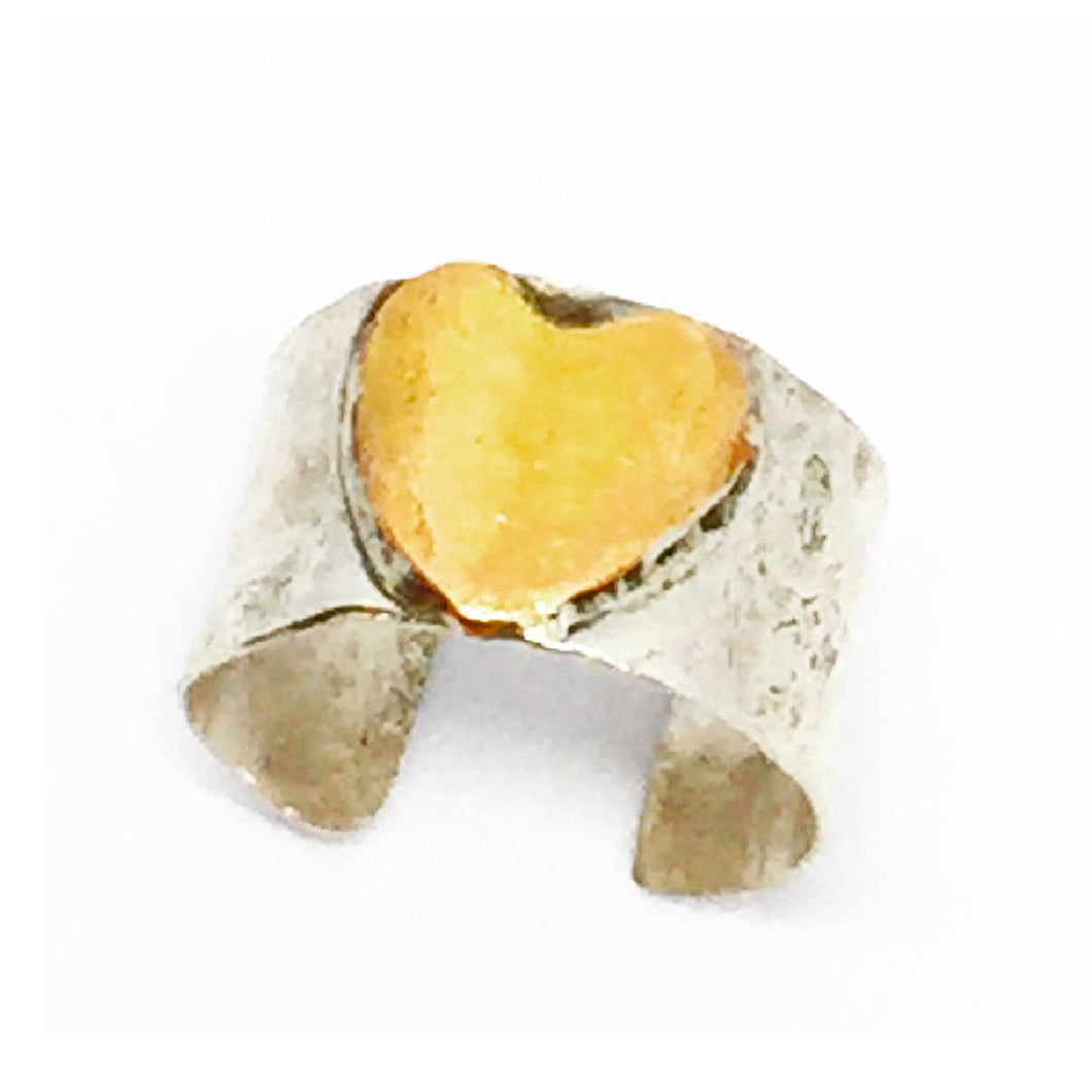 Heart Finger Hug Ring