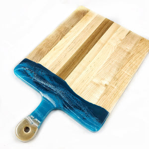 Canadian Maple & Resin Cheeseboard XL