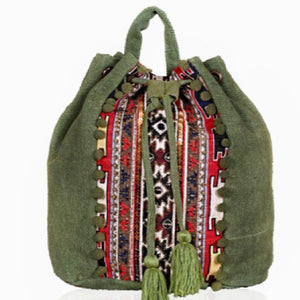 Loden Frost Jacquard Backpack