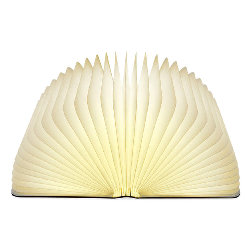 Lumio Book Lamp Maple