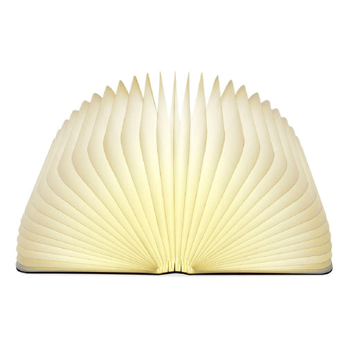 Lumio Book Lamp Walnut