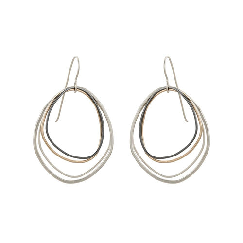 Topography Earring in Medium