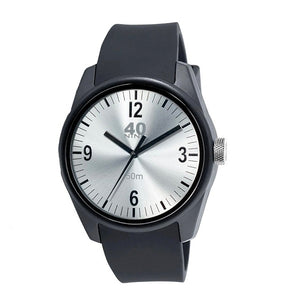 Mens 40Nine Basic Silver Watch