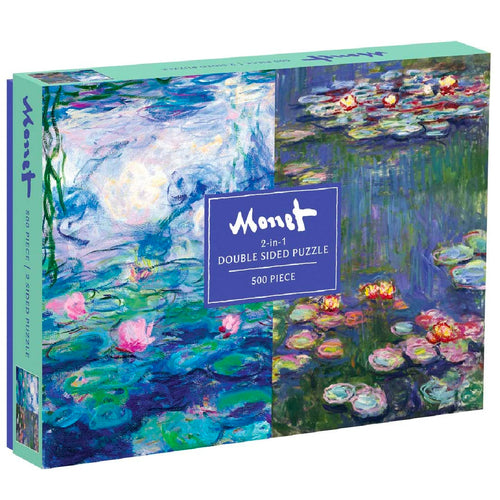Monet Double Sided Puzzle