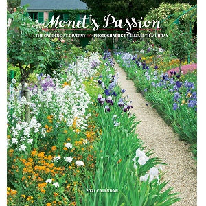 Monet's Passion 2021 Wall Calendar